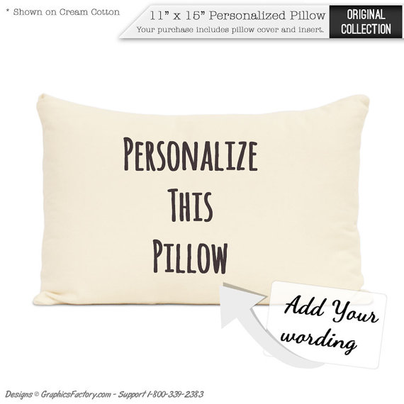 Personalized Pillow Home Decor